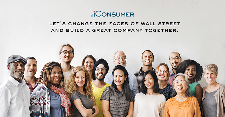 Let's change the faces of Wall Street and build a great company together.